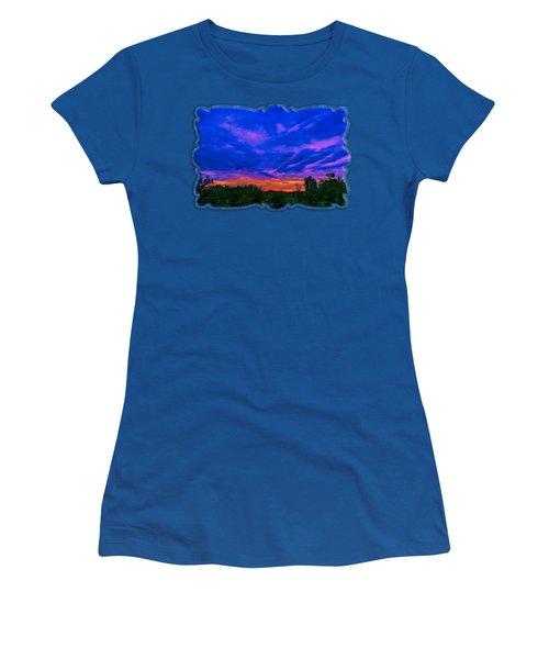 Monsoon Sunset H43 Women's T-Shirt