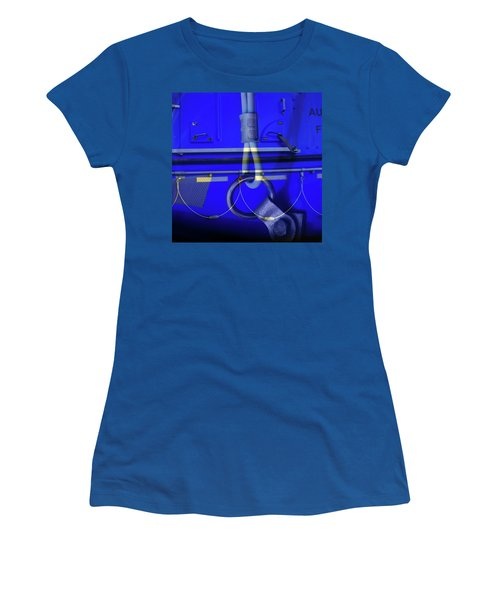 Women's T-Shirt (Junior Cut) featuring the photograph Mood Blue by Wayne Sherriff