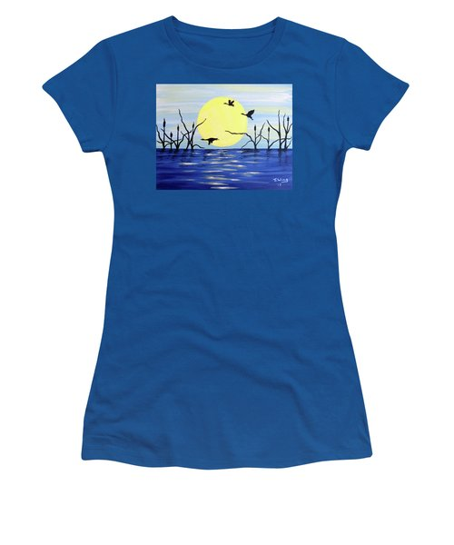Morning Geese Women's T-Shirt