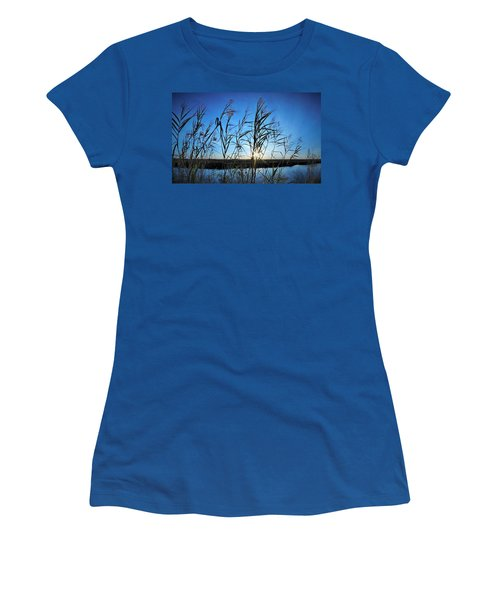 Women's T-Shirt (Junior Cut) featuring the photograph Good Day Sunshine by John Glass