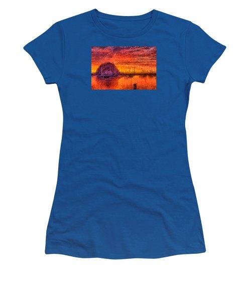 Morro Bay Marina Women's T-Shirt