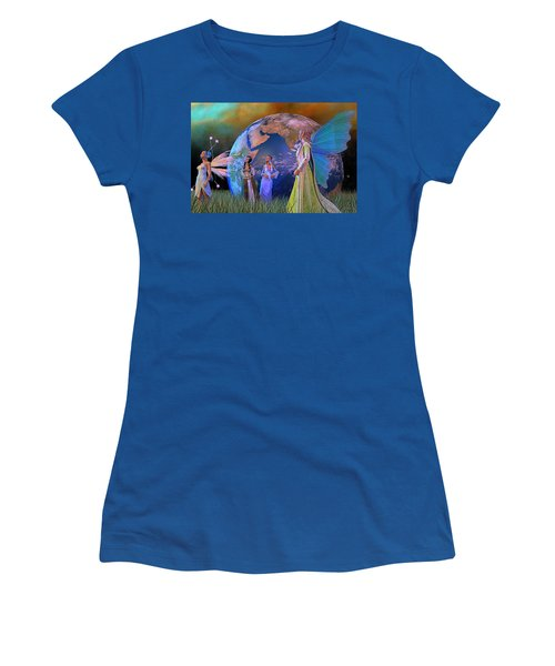 Mother Earth Series Plate5 Women's T-Shirt