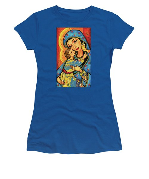 Women's T-Shirt featuring the painting Mother Temple by Eva Campbell