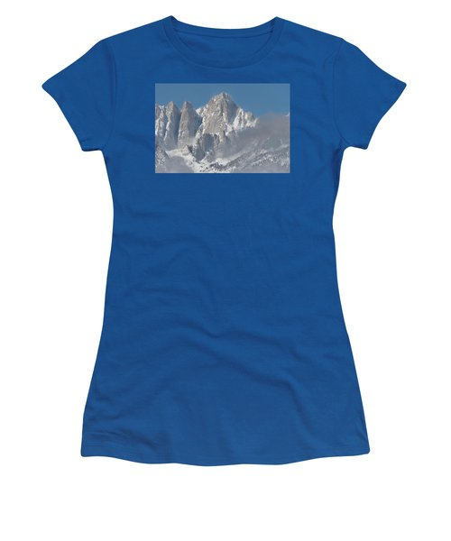 Mount Whitney In March Women's T-Shirt