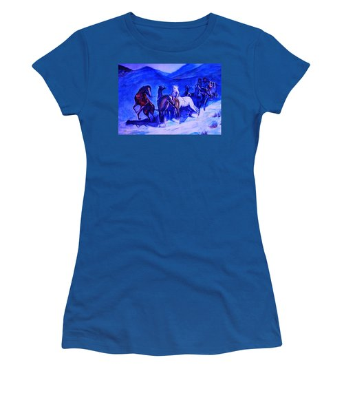 Move Over. Women's T-Shirt (Junior Cut) by Khalid Saeed