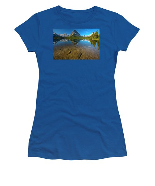 Mt. Grinnell Women's T-Shirt (Athletic Fit)