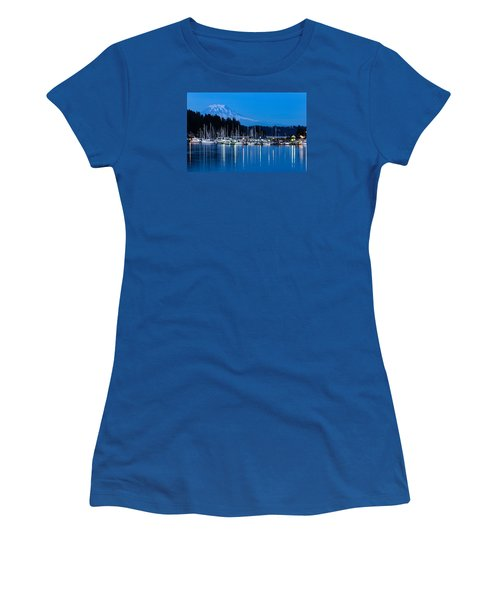 Mt. Rainier From Gig Harbor Women's T-Shirt