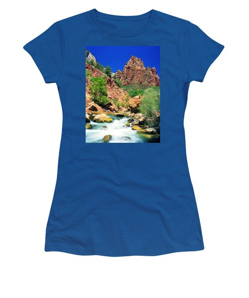 Mt.moroni / Virgin River Women's T-Shirt (Athletic Fit)