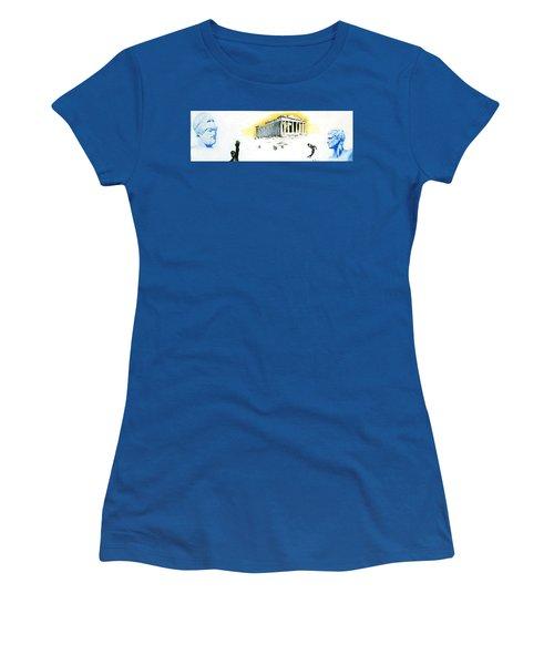Mural Women's T-Shirt (Athletic Fit)