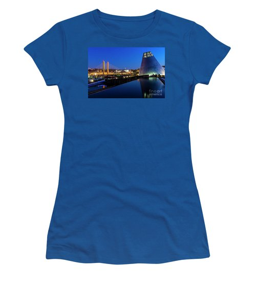 Museum Of Glass At Blue Hour Women's T-Shirt