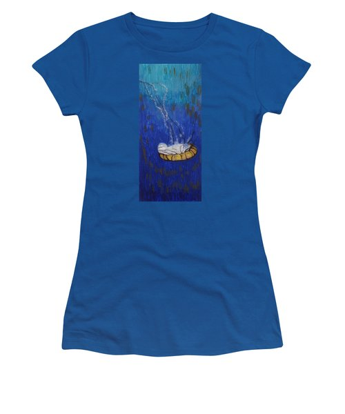 Nettle Jellyfish Women's T-Shirt (Junior Cut)