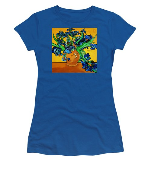 New Blue By You Women's T-Shirt (Athletic Fit)