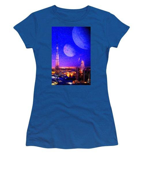 New Dubai On Tau Ceti E Women's T-Shirt