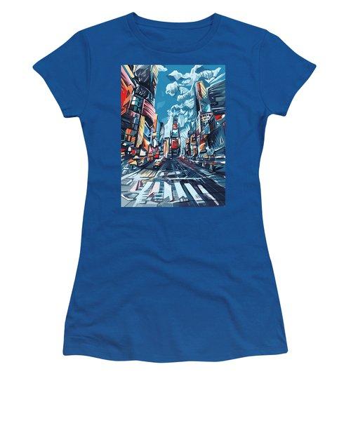 New York City-times Square Women's T-Shirt