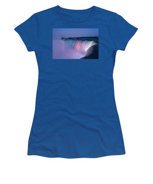 Niagara Falls At Dusk Women's T-Shirt