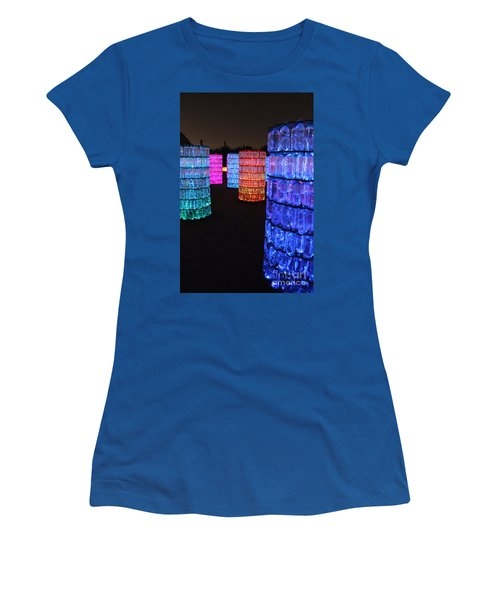 Night Color Women's T-Shirt (Athletic Fit)