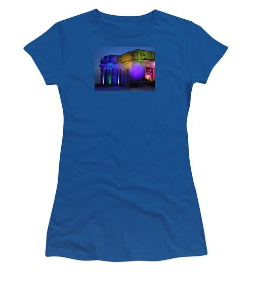 Night Lights Niagara Women's T-Shirt (Athletic Fit)