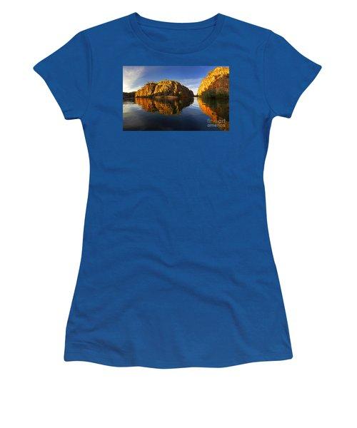 Nitimiluk Women's T-Shirt (Junior Cut) by Bill Robinson