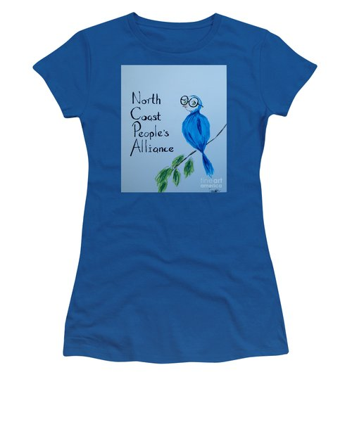 North Coast People's Alliance With Bernie Women's T-Shirt (Athletic Fit)