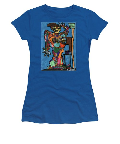 Nothing To Fear Women's T-Shirt (Junior Cut) by Darrell Black
