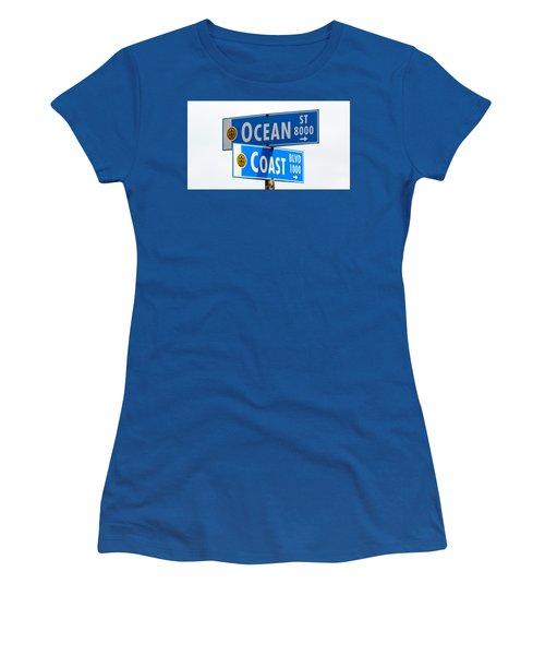 Ocean And Coast Women's T-Shirt