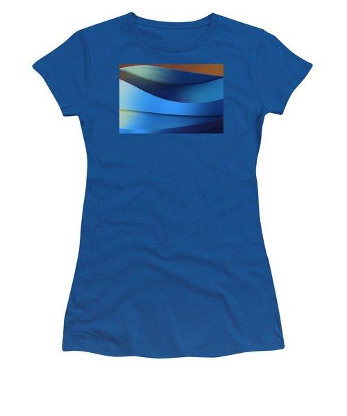 Women's T-Shirt (Junior Cut) featuring the photograph Ocean Breeze by Paul Wear