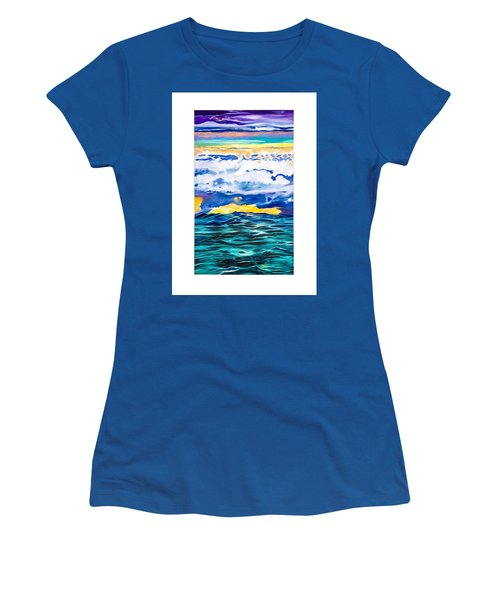 Ocean Women's T-Shirt (Athletic Fit)