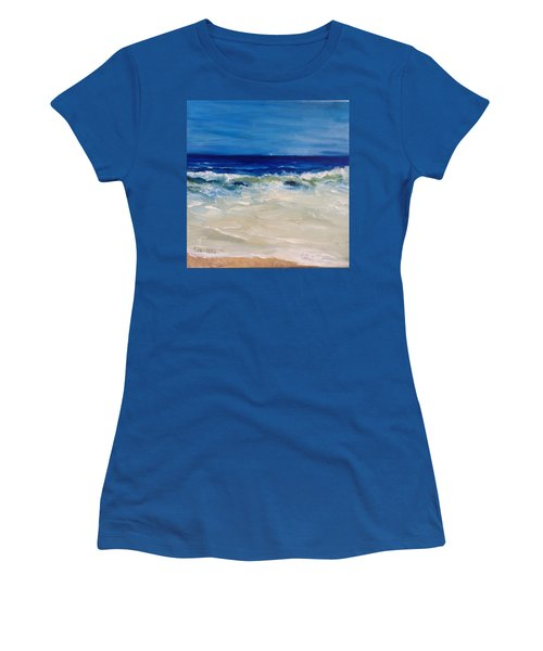 Ocean Roar Women's T-Shirt (Athletic Fit)