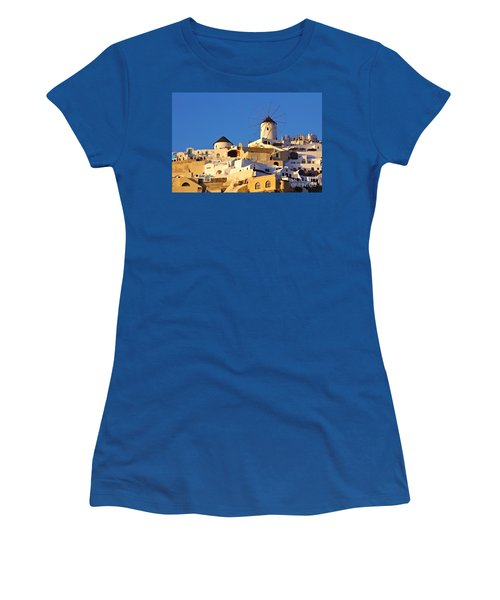 Oia Windmill Women's T-Shirt