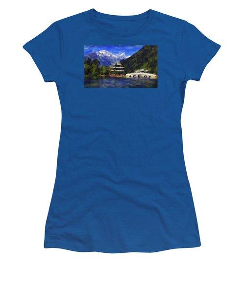 Old Town Of Lijiang Women's T-Shirt