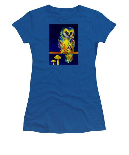 On The Fence Women's T-Shirt (Junior Cut) by Vivien Rhyan