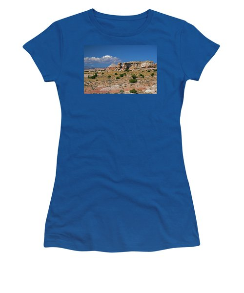 On The Road To Cathedral Valley  Women's T-Shirt