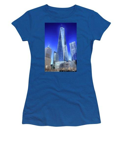 Standing Tall Women's T-Shirt (Junior Cut) by Dyle Warren