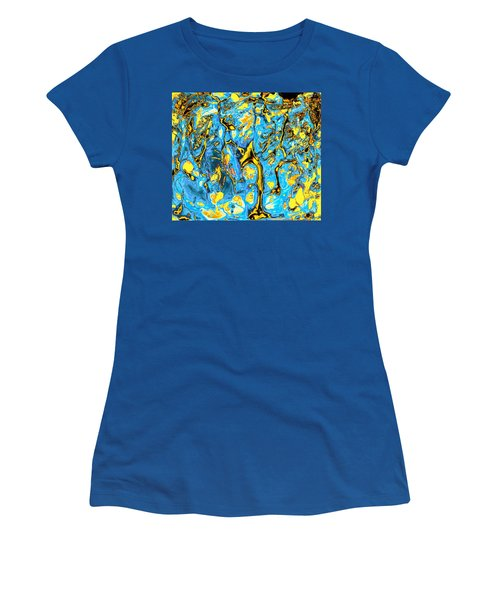 Women's T-Shirt featuring the painting Opportunities by Anastasiya Malakhova