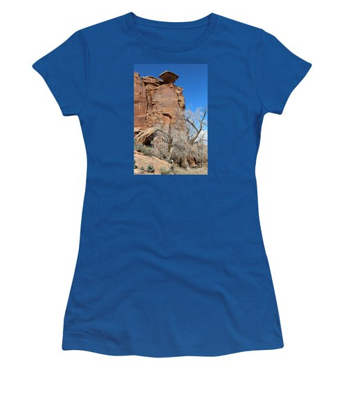 Outlaw Caprock Jump In Colorado Women's T-Shirt (Athletic Fit)