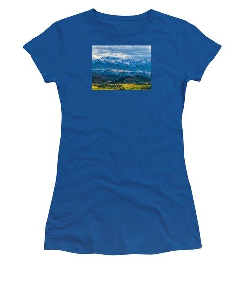 Outside Of Ridgway Women's T-Shirt (Junior Cut) by Alana Thrower