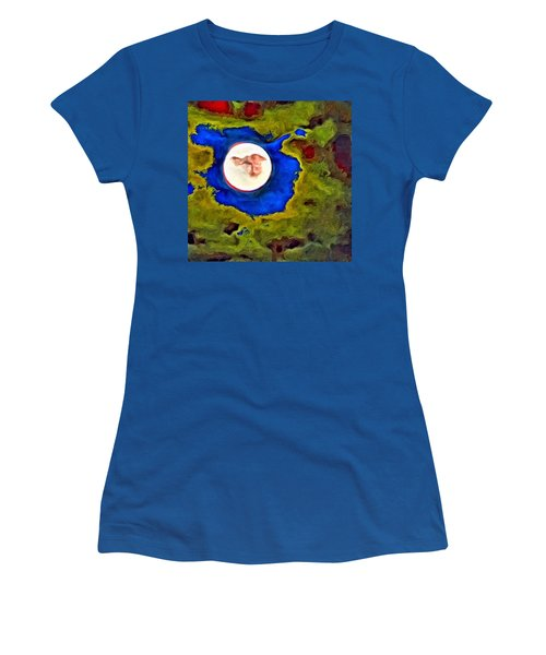 Painted Moon Women's T-Shirt