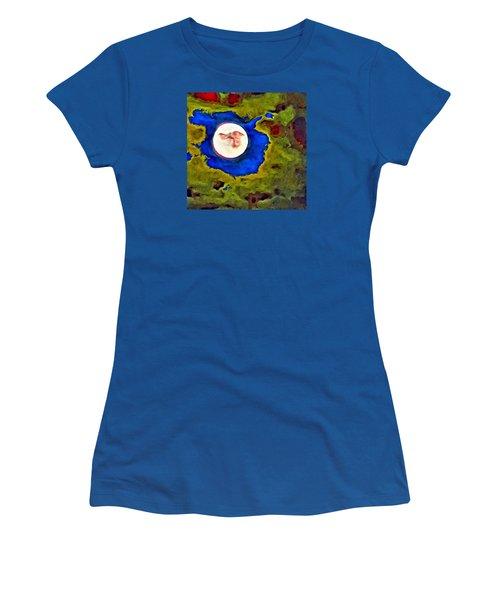 Painted Moon Women's T-Shirt