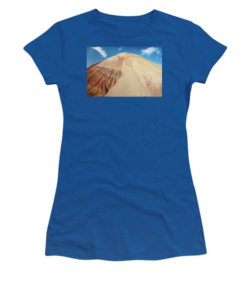 Women's T-Shirt (Junior Cut) featuring the photograph Painted Mound by Greg Nyquist