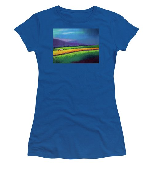 Passing Rain Women's T-Shirt (Athletic Fit)
