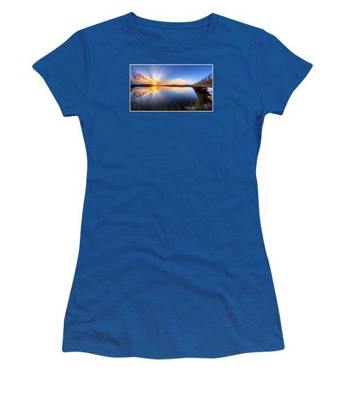 Patcong Rays Women's T-Shirt (Junior Cut) by John Loreaux