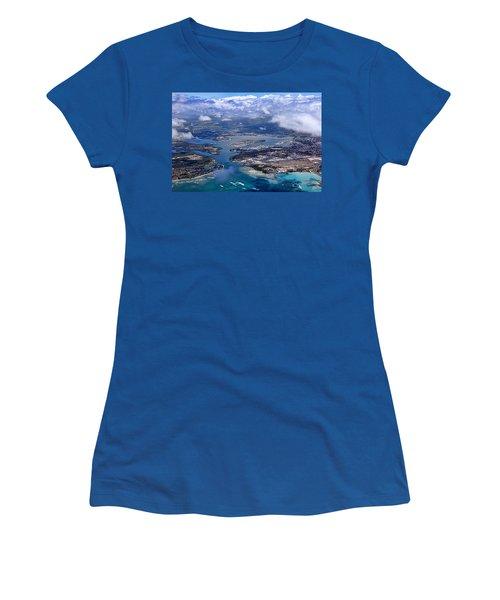 Pearl Harbor Aerial View Women's T-Shirt