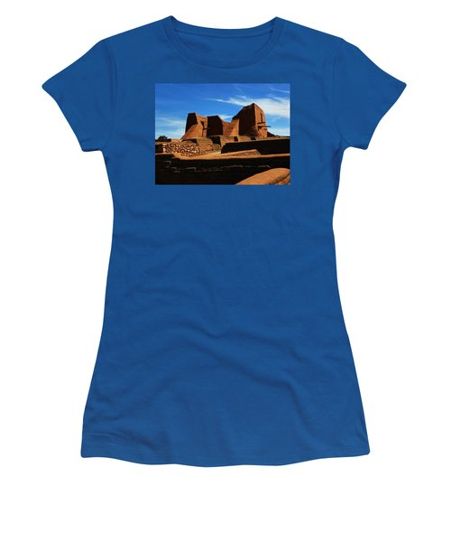 Women's T-Shirt (Junior Cut) featuring the photograph Pecos New Mexico by Joseph Frank Baraba