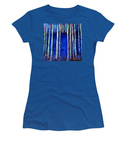 Peeking Through The Trees Women's T-Shirt