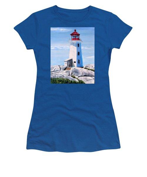 Peggy's Cove Lighthouse Women's T-Shirt