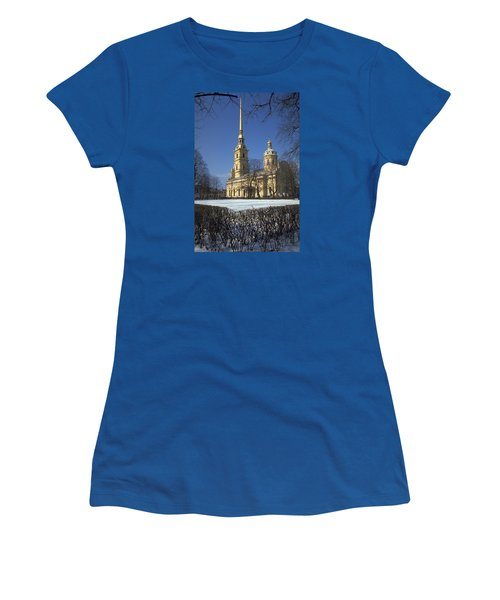 Peter And Paul Cathedral Women's T-Shirt (Junior Cut) by Travel Pics