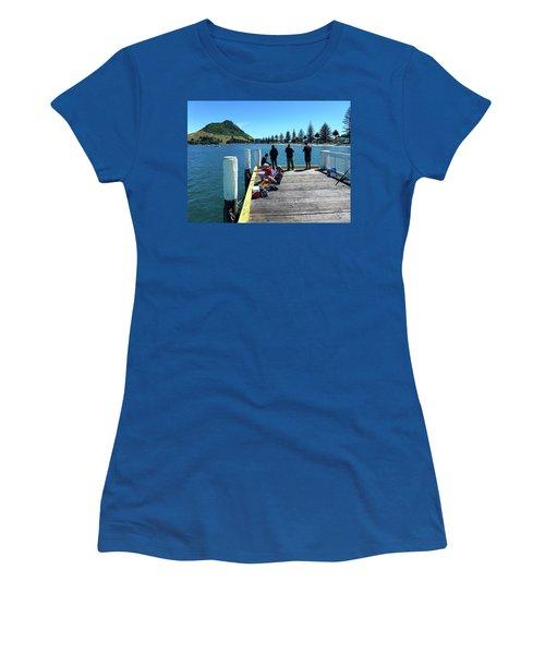 Pilot Bay Beach 7 - Mt Maunganui Tauranga New Zealand Women's T-Shirt