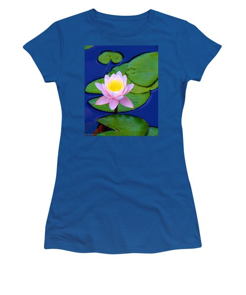 Pink Lily Women's T-Shirt (Athletic Fit)