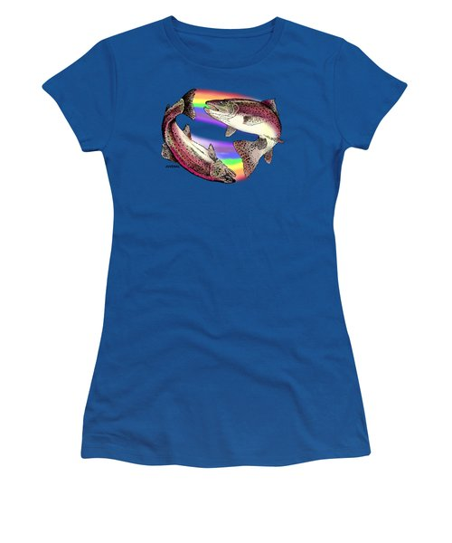 Pisces Artist Women's T-Shirt (Athletic Fit)
