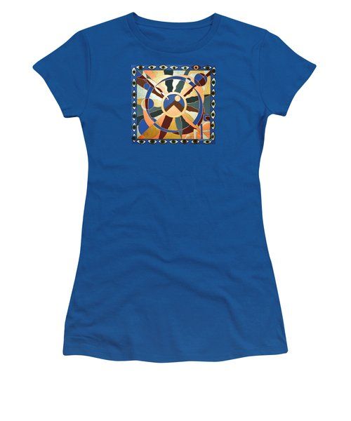 Planet Earth Raw  All Eyes Upon Her Women's T-Shirt